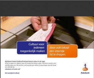 Advertinsje Rabobank